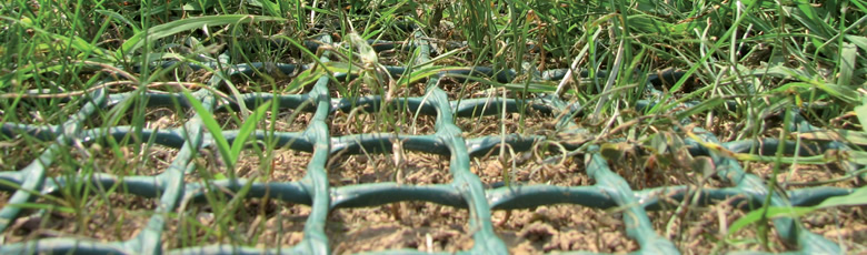 Zatravňovací rohož černá GrassRoll Basic 2x10m včetně U-Pinů