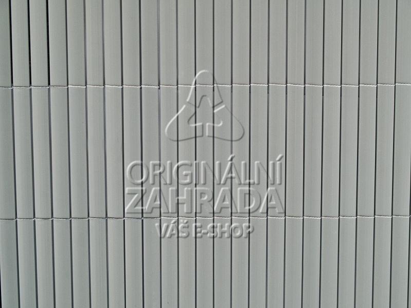 Bambusová rohož šedá, rozměr role 1,2x3,0 m (BAMBOO MAT - DG - bambusová stínící rohož)