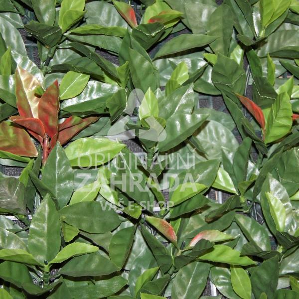 ETNA, 4x dílec 50 x 50 (Umělý živý plot - Bobkovišeň)