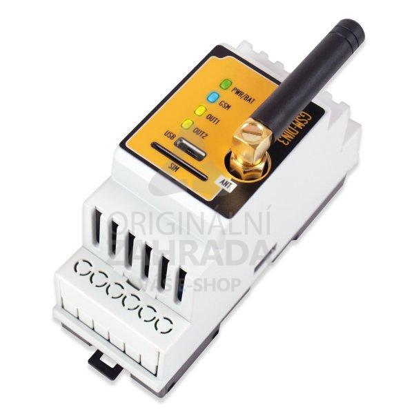 GSM ovládací rélé na DIN lištu