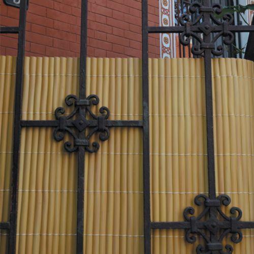 Bambusová rohož okrová NILO PLUS, 1,0x3,0 m (Bambusová stínící rohož)