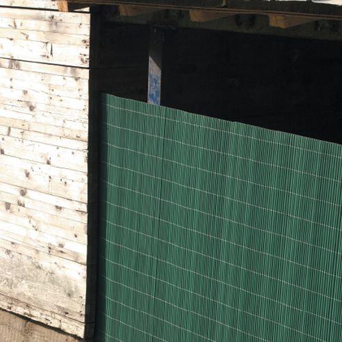 Bambusová rohož zelená NILO PLUS, 1,5x3,0 m (Bambusová stínící rohož)