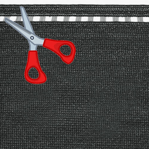 Stínící tkanina 230 g/m2, výška 1,5 m - metráž (100% antracitová stínící tkanina)