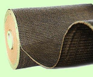 Hnědá školkařská textilie 100g, 162cm x 100m (Tkaná školkařská textilie 100g/m2 role 162cm x 100m)