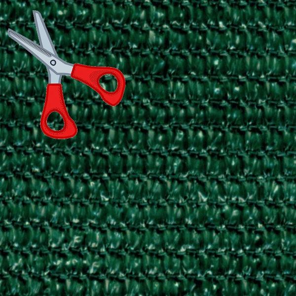 Stínící tkanina 180 g/m2, výška 1,5 m - metráž (100% zelená stínící tkanina)