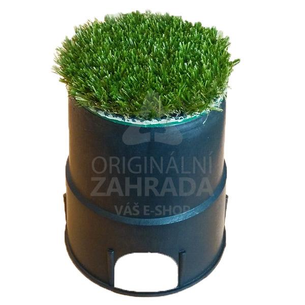 MINI - zahradní šachtice PC s travním krytem AG (Ventilová šachtice)