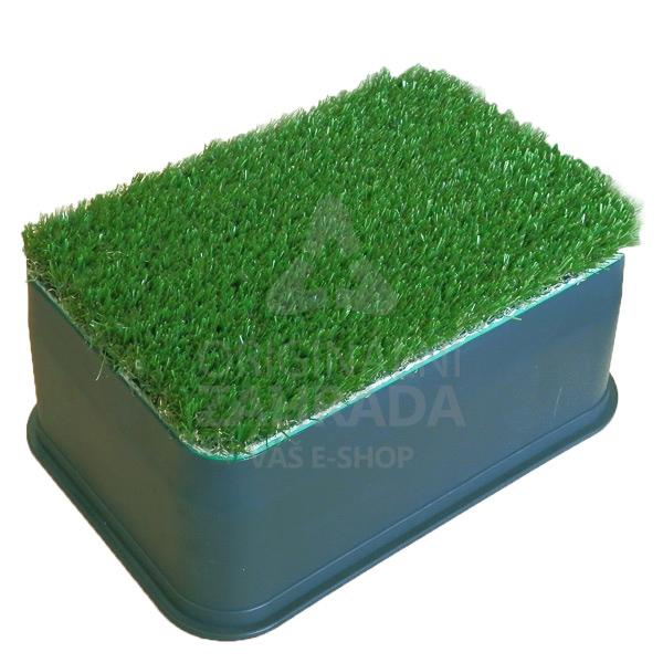 """STANDARD """"NÍZKÁ"""" - zahradní šachtice PC s travním krytem AG (Ventilová šachtice)"""