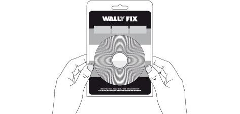 "Páska dvojitá oboustranná ""Wall.y fix) 18mm x 5m (Páska dvojitá oboustranná ""Wall.y fix)"