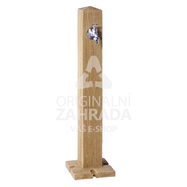 Plastový zahradní sloupek imitace dřevo (Vodovodní sloupek)