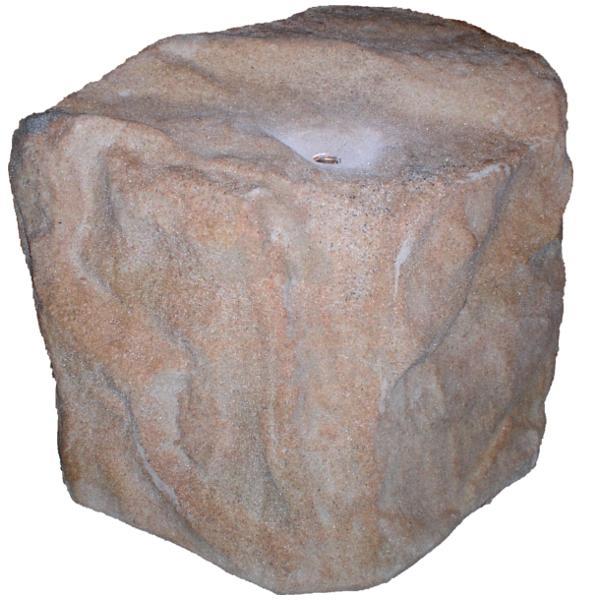 Pískovec - Umělý kámen AS SWHH-S Verze A (Umělý dutý kámen (š. 57 cm, v. 43 cm, d. 42 cm))