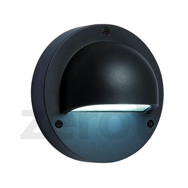 Deimos, 1 W, LED (Zahradní LED osvětlení - nástěnné světlo)