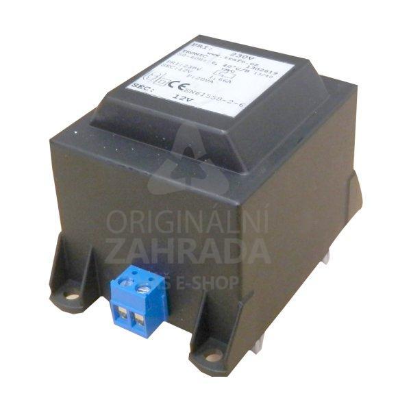 Transformátor 230 V AC/12 V AC, 40 W, DIN