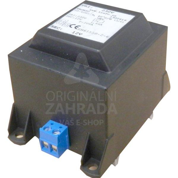 Transformátor 230 V AC/12 V AC, 70 W, DIN