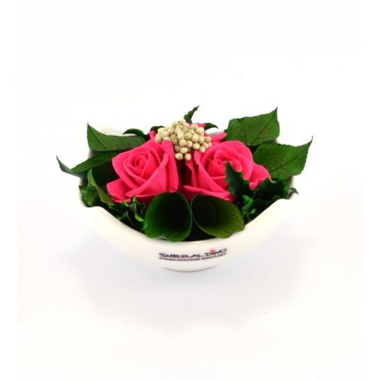 Nela (Aranže růží v misce)