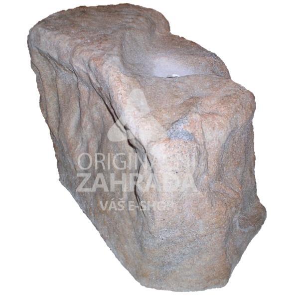Pískovec - Umělý kámen AS SWHH-S Verze B (Umělý dutý kámen (š. 57 cm, v. 43 cm, d. 42 cm))