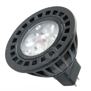 Power LED MR16, 12 V AC, GU 5.3, 5 W, Luxeco